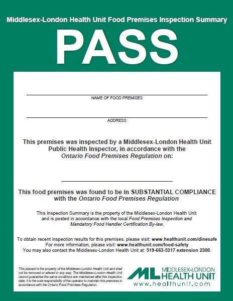 signs — middle-london health unit