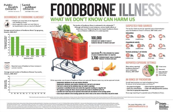 A thumbnail of the Foodborne Illness infographic