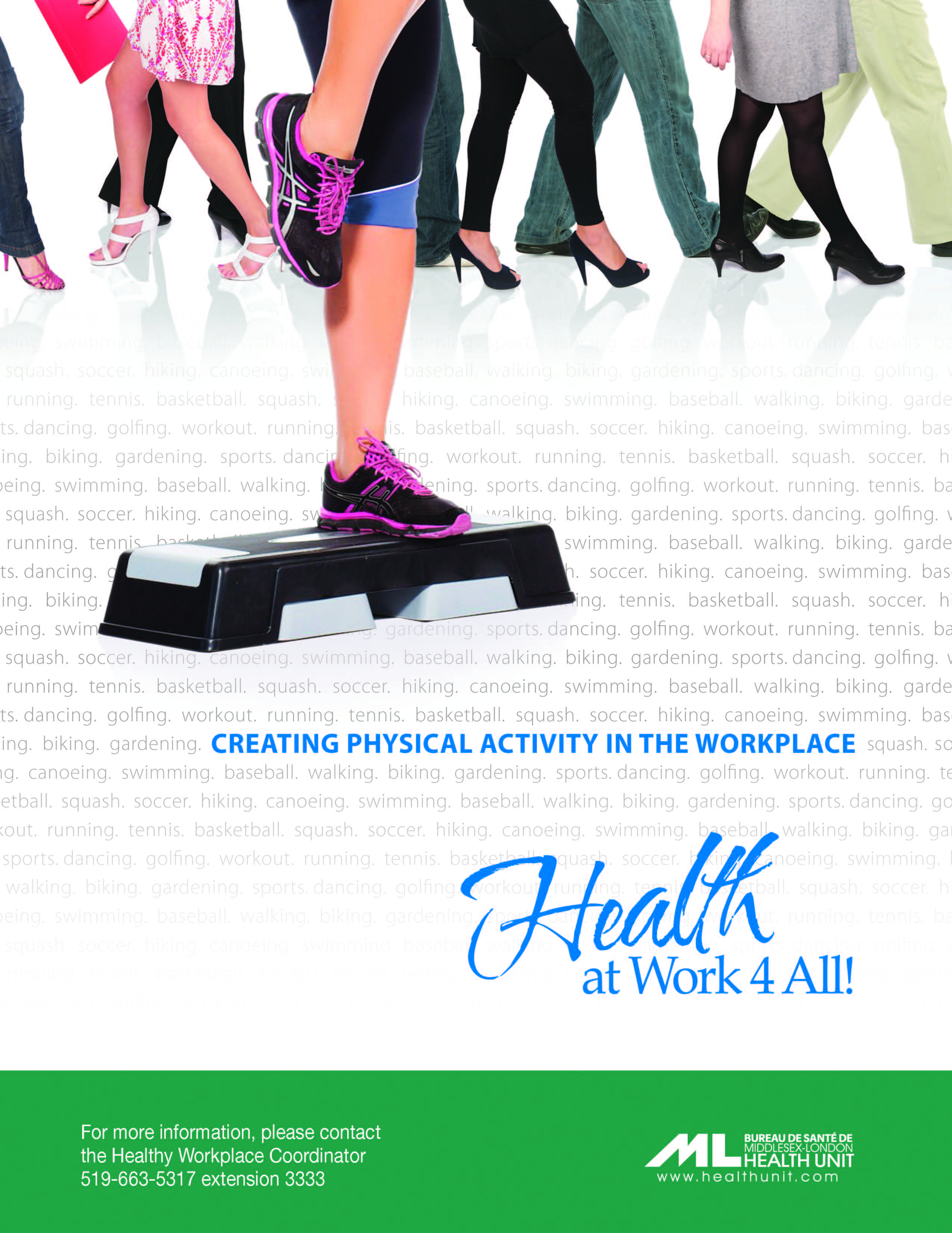 give four examples of how physical activity contributes to wellness