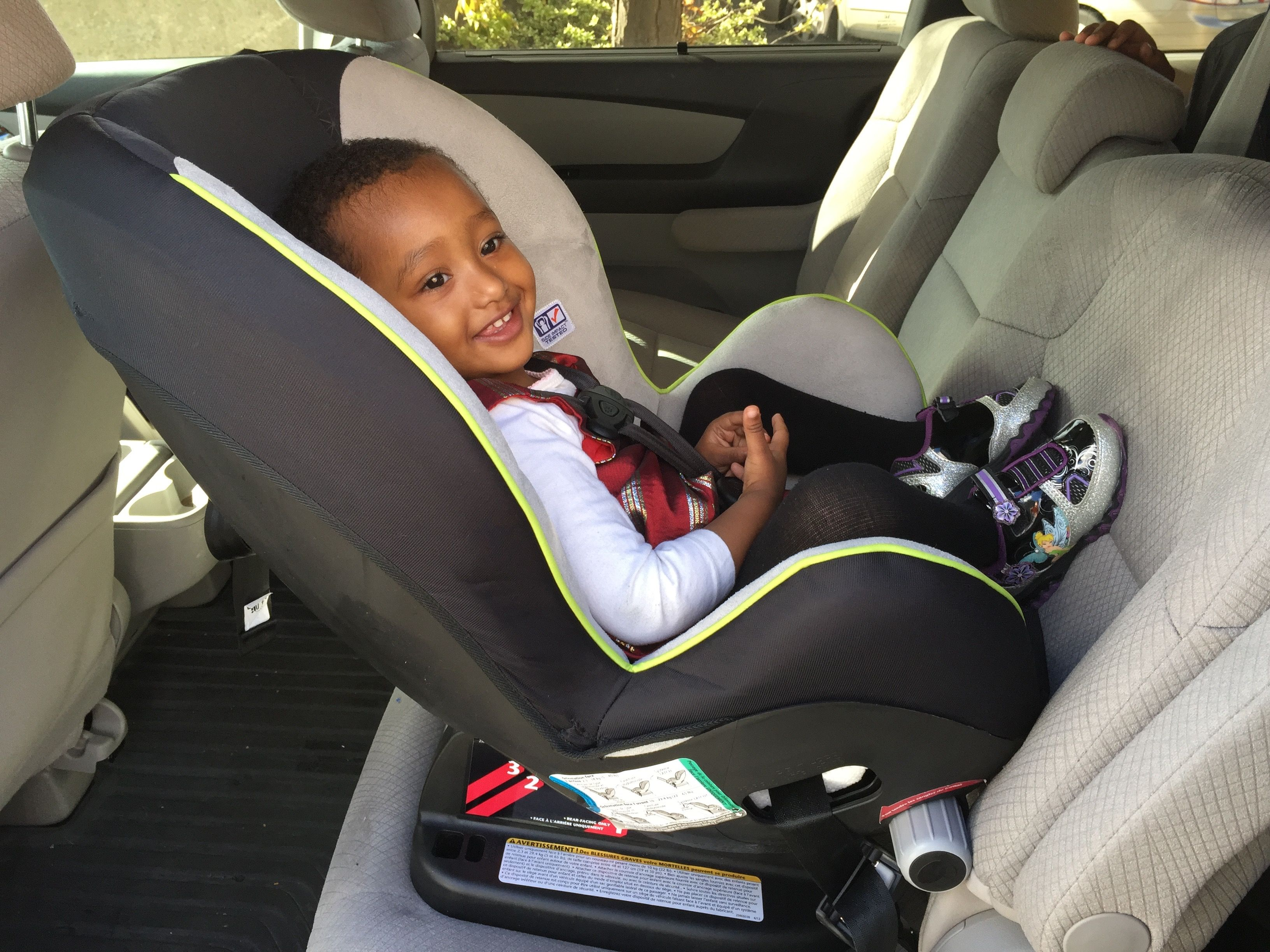 Car Seat Facing Forward California