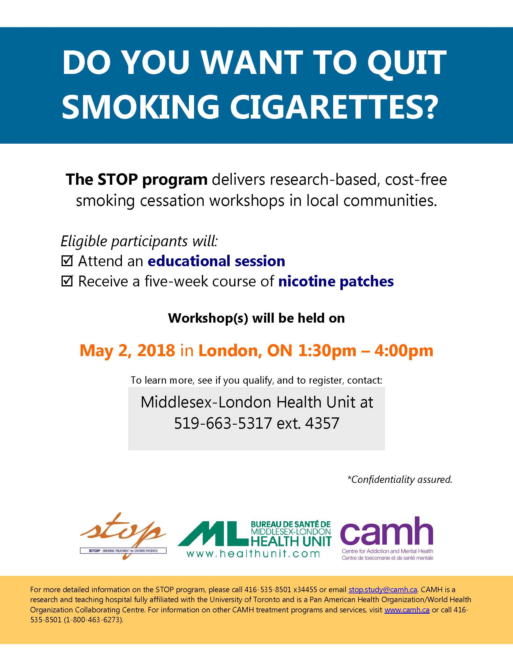 quit smoking workshop