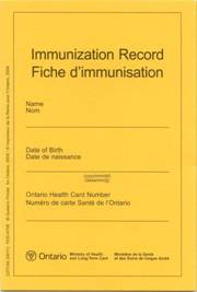 Immunization — Middlesex-London Health Unit
